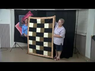 Leisa Wood speaks with Tom Gillespie, Reporter from the Western Star Newspaper in Roma about Quilt in a Day.