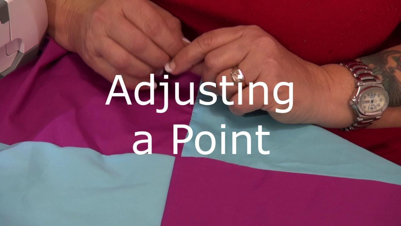 AQQ Video Tips Adjusting a Point